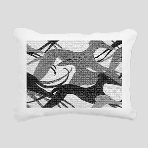 Leaping Hounds Laptop Sk Rectangular Canvas Pillow