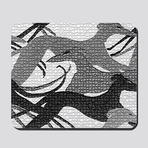 Leaping Hounds Laptop Skin Mousepad