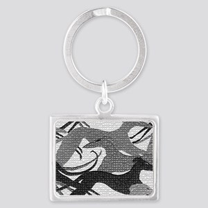 Leaping Hounds Laptop Skin Landscape Keychain