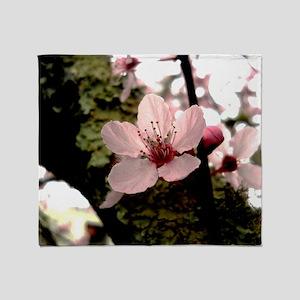 Cherry Blossom, 1 Throw Blanket