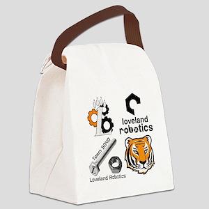 Robotics Programs Canvas Lunch Bag