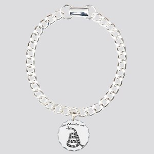 Gadsden Don´t tread on m Charm Bracelet, One Charm