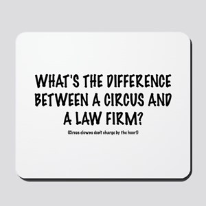 "Lawyer's ""Circus"" Mousepad"