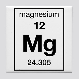 Periodic table magnesium coasters cafepress magnesium tile coaster urtaz Image collections