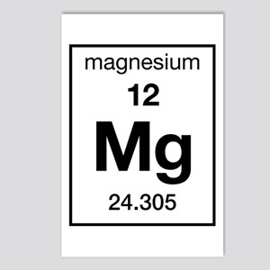 Magnesium Postcards (Package of 8)