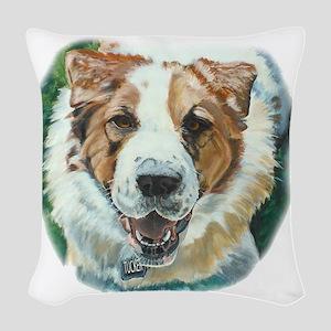 Tucker: Lovin Life Woven Throw Pillow
