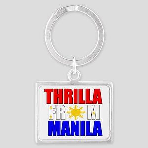 THRILLA FROM MANILA Landscape Keychain