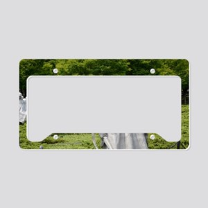 Korean War Memorial License Plate Holder