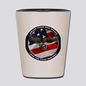 I Ride for Those Who Died Shot Glass