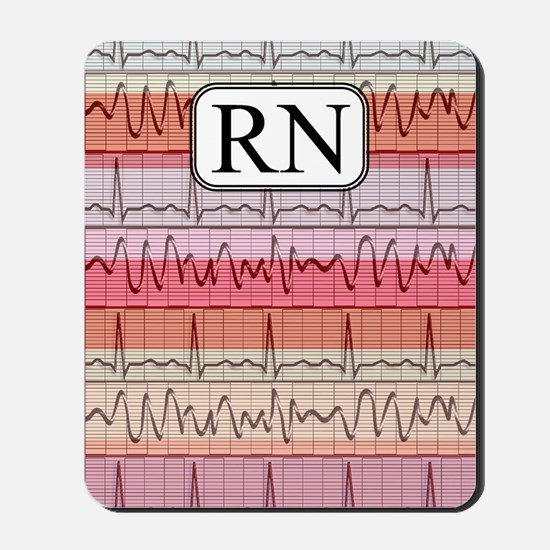 RN case reds Mousepad