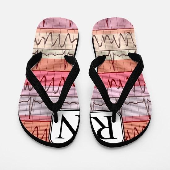 RN case reds Flip Flops