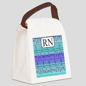 RN case blue Canvas Lunch Bag