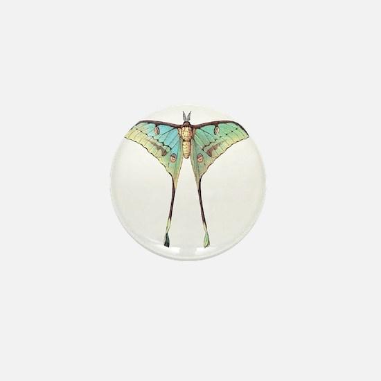 Luna moth Mini Button