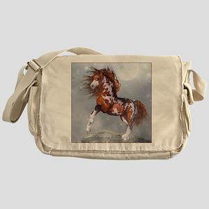 nh_Square Canvas Pillow Messenger Bag
