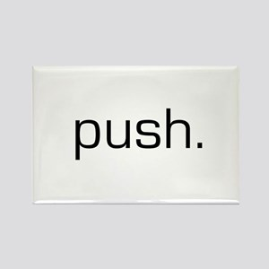 Push Rectangle Magnet