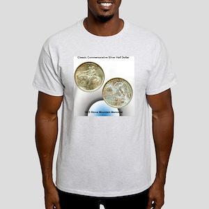 Stone Mountain Memorial Half Dollar  Light T-Shirt