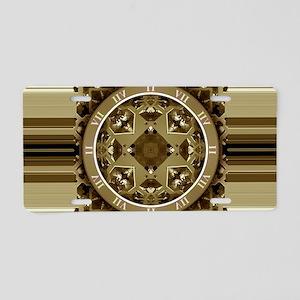 Clockwork Bronze Aluminum License Plate