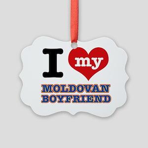 Moldovan patriotic designs Picture Ornament
