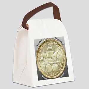 Worlds Columbian Exposition Half  Canvas Lunch Bag