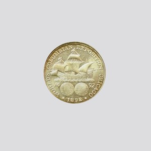 Worlds Columbian Exposition Half Dolla Mini Button