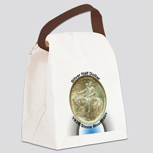 Stone Mountain Memorial Half Doll Canvas Lunch Bag