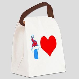 I Love Choi Kwang Do Canvas Lunch Bag