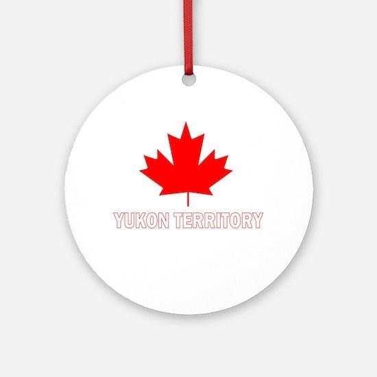 Yukon Territory Ornament (Round)