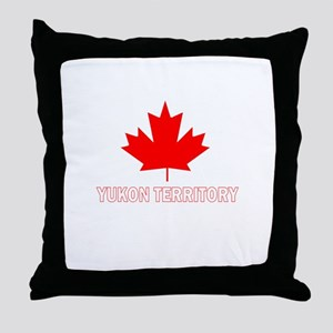 Yukon Territory Throw Pillow