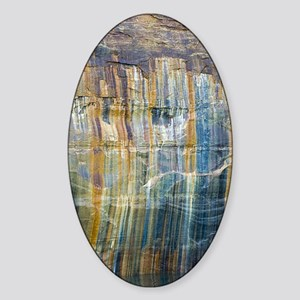 Pictured Rocks National Lake Shore Sticker (Oval)