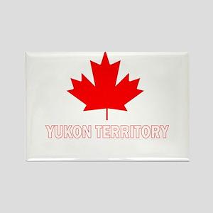 Yukon Territory Rectangle Magnet