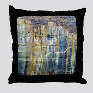 Pictured Rocks National Lake Shore Throw Pillow