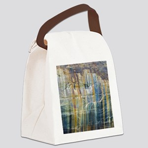 Pictured Rocks National Lake Shor Canvas Lunch Bag