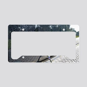 Vietnam Memorial License Plate Holder