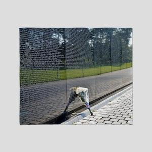 Vietnam Memorial Throw Blanket