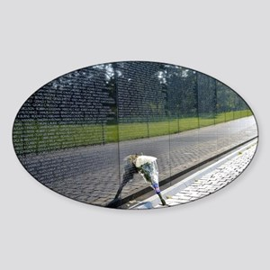 Vietnam Memorial Sticker (Oval)