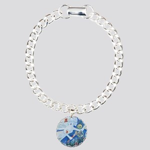 """""""The Angel of Hope"""" by S Charm Bracelet, One Charm"""