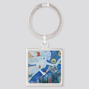 """""""The Angel of Hope"""" by Studio OTB Square Keychain"""