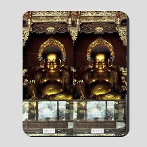 Golden Buddha Mousepad