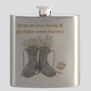 MONEY BOOTS Flask