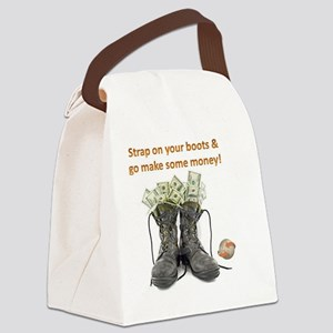 MONEY BOOTS Canvas Lunch Bag