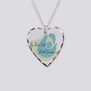 By Your Side Birth Services L Necklace Heart Charm