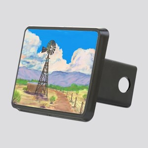 Southwest Windmill Rectangular Hitch Cover