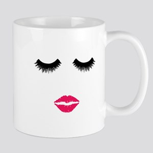 Make up Artist, Beauty Salon, Pink lips & Mugs