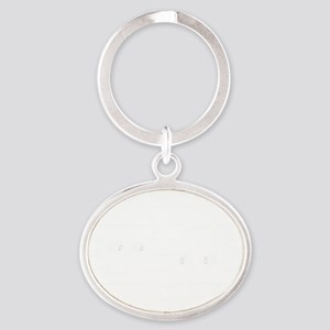 Natural Sharp Look Oval Keychain