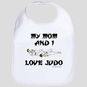 MY MOM AND I LOVE JUDO Bib
