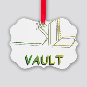 Pole Vaulting Picture Ornament