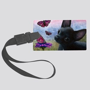 dog 91 Large Luggage Tag