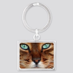 Paws and Wiskers Landscape Keychain