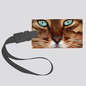 Paws and Wiskers Large Luggage Tag
