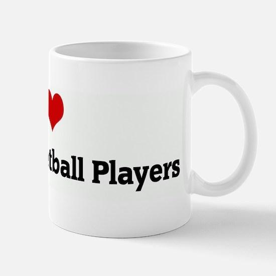 I Love Jewish Basketball Play Mug